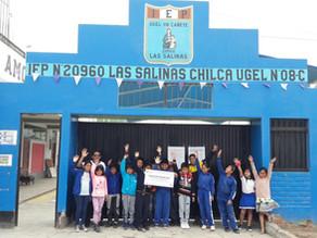 Más Agua y Hogares Azules en Las Salinas con Fenix.
