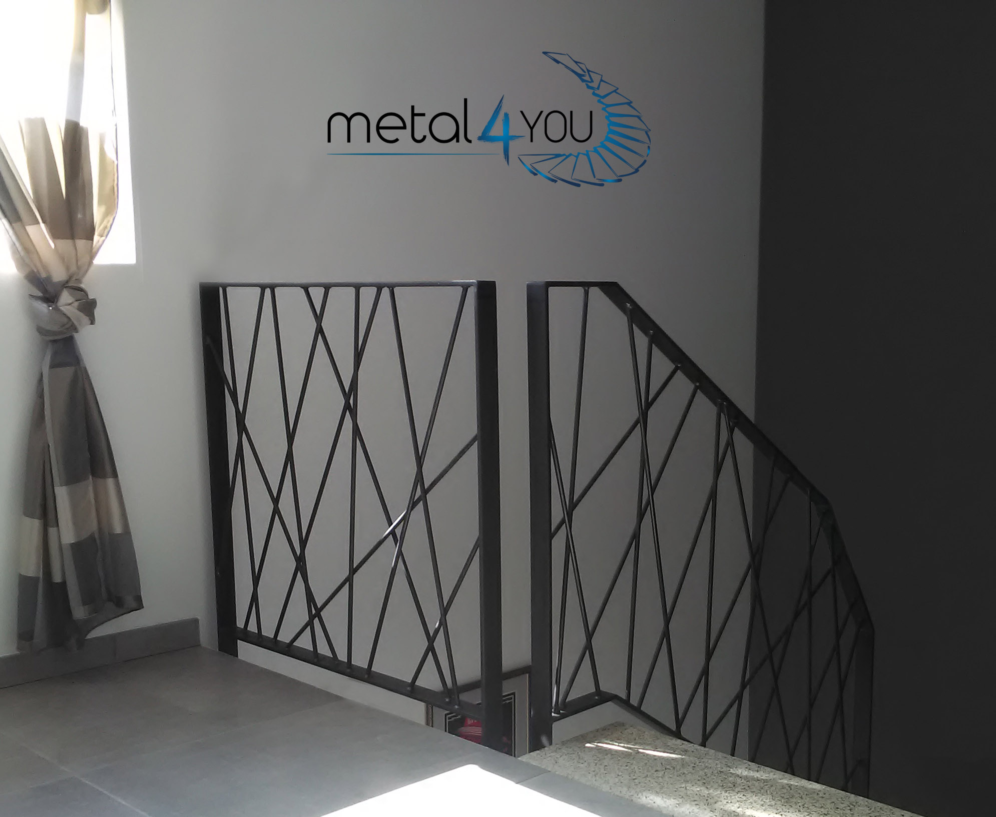 Modernes Treppengeländer