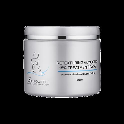 Retexturing Glycolic 15% Treatment Pads