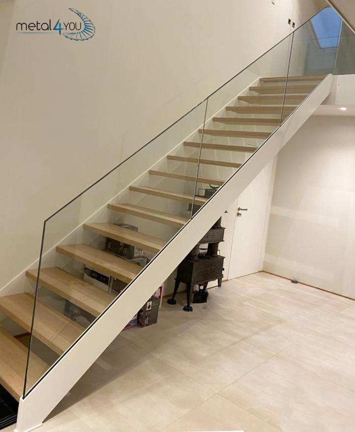 Treppe Ganzglas