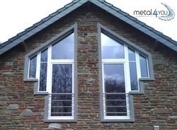 Fenstergeländer Edelstahl