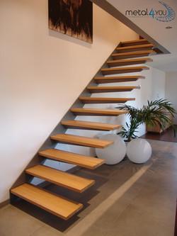 Treppe, Holzstufen