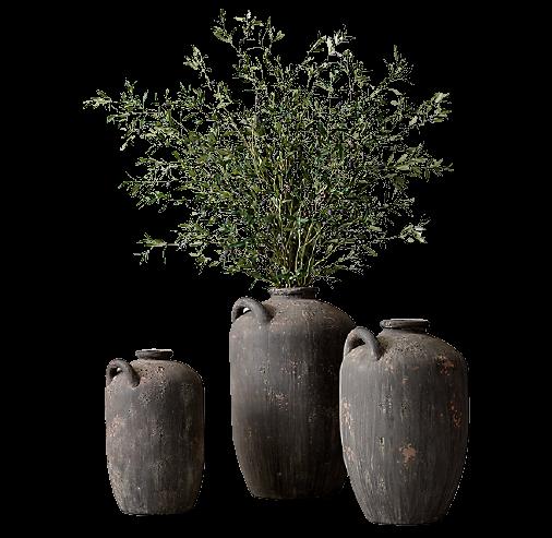 Spanish Water Vessel Vases