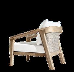 Malta Teak Lounge Chair