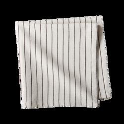 Pinstripe Black Striped Napkin