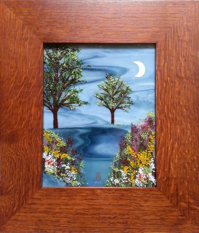 Moon Nature Scene