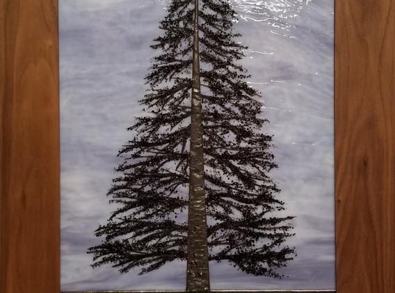 Extra Large Custom Pine Tree