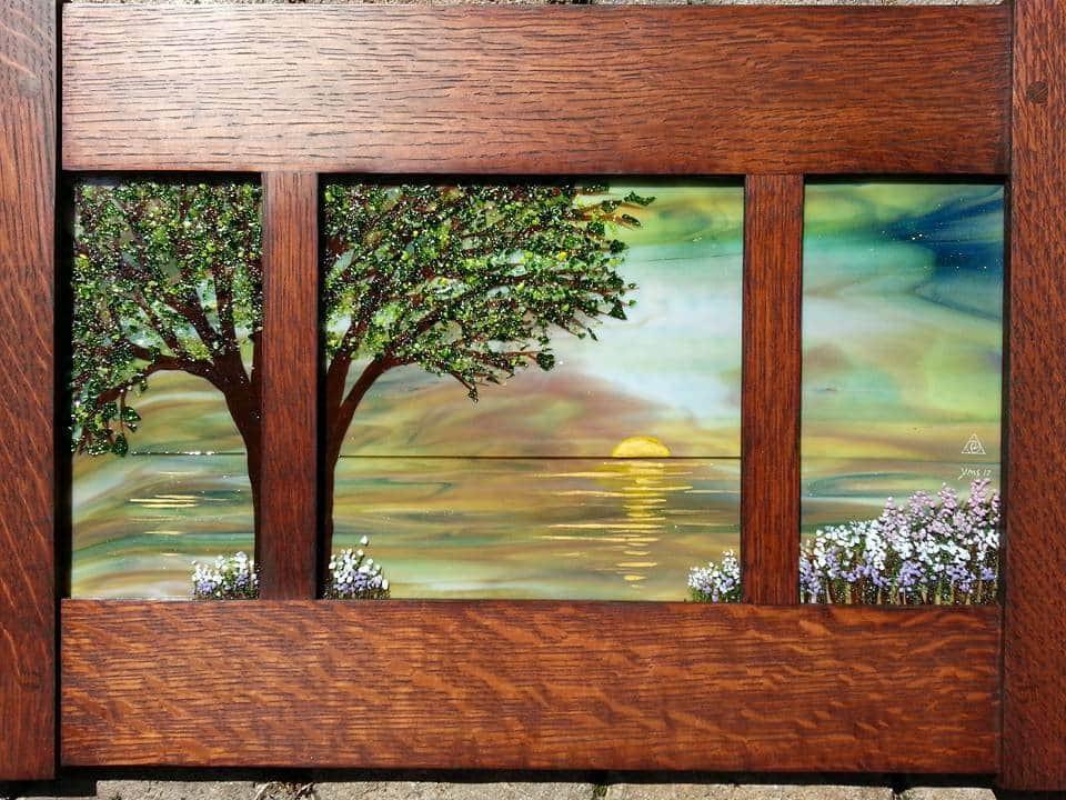 Sunset Triptych