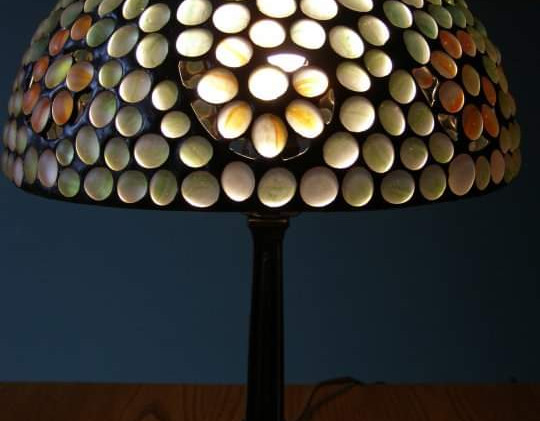 Nugget Swirl Table Lamp