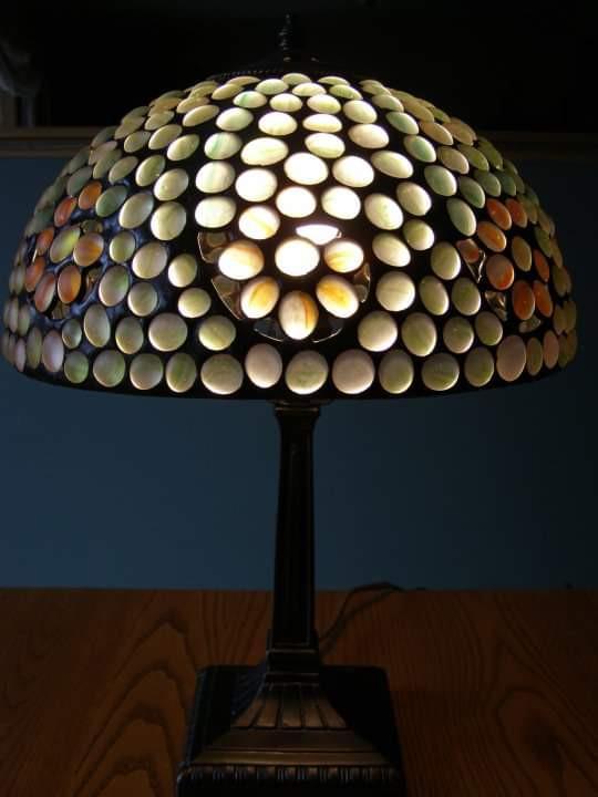 Nugget Swirl Table Lamp