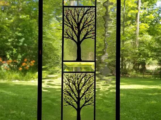 Four Seasons Vertical Window Panel