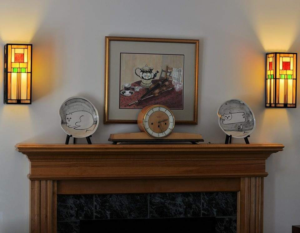 FL Wright Inspired Walls Sconces