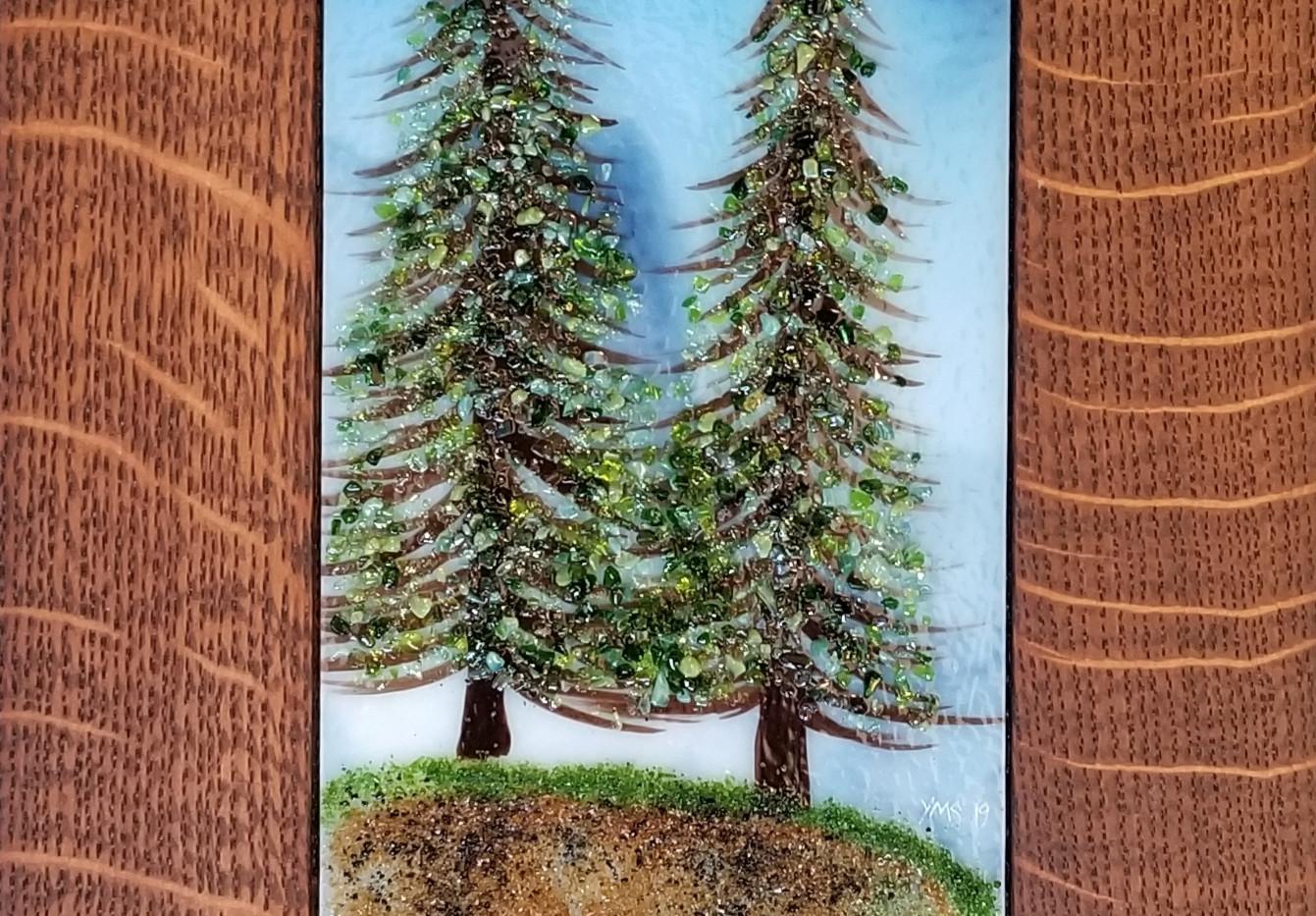 Wildflower and Pine Pair