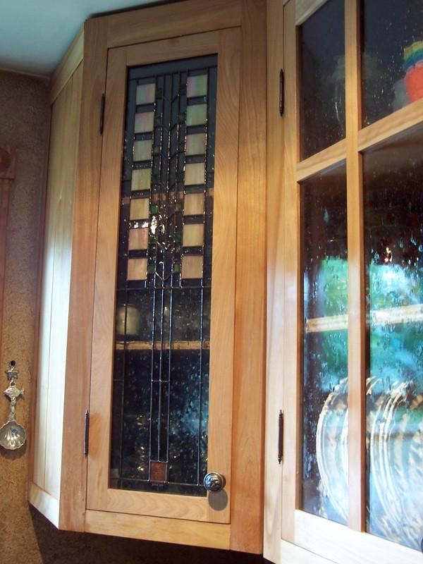 FL Wright Inspired Cabinet Door