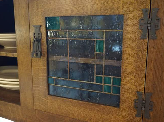 Buffet Door for Custom Cabinet