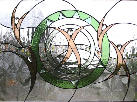 Curves Transom Window