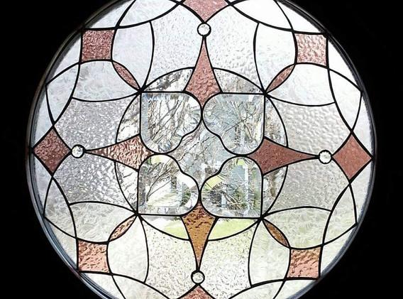 Insulated Door Mandala Window