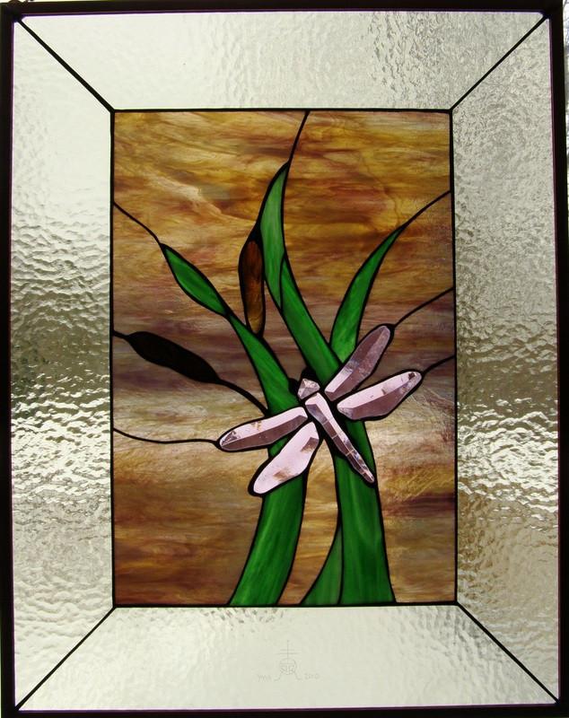 Dragonfly Window Panel