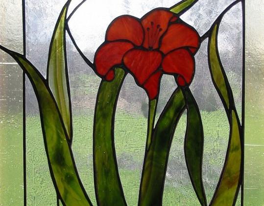 Day Lily Window