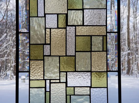 FL Wright Inspired Window Panel