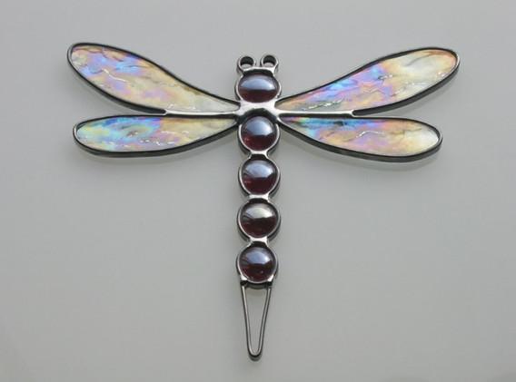 Leaded Dragonfly Suncatcher
