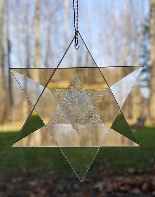 Snowflake Bevel Ornament