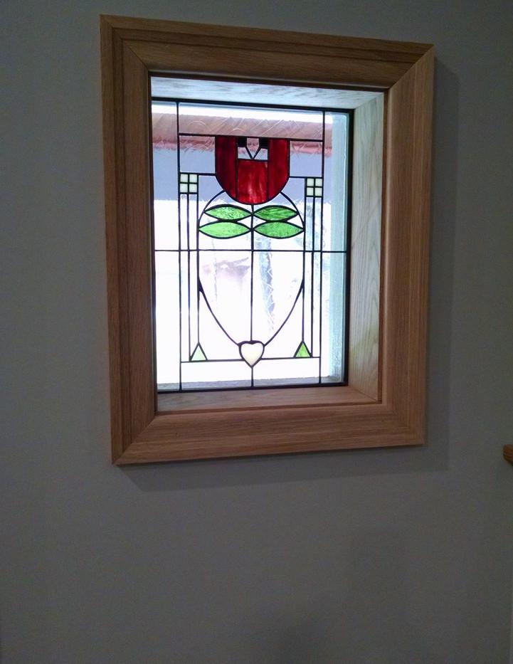 Roycroft Inn Reproduction Window