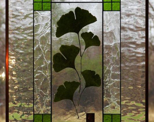 Ginkgo Leaf Window