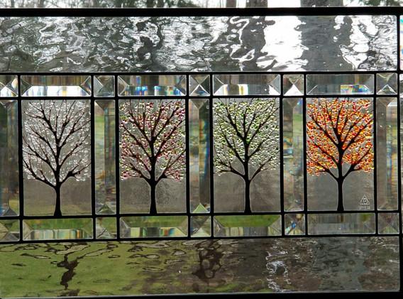 Four Seasons Window Panel