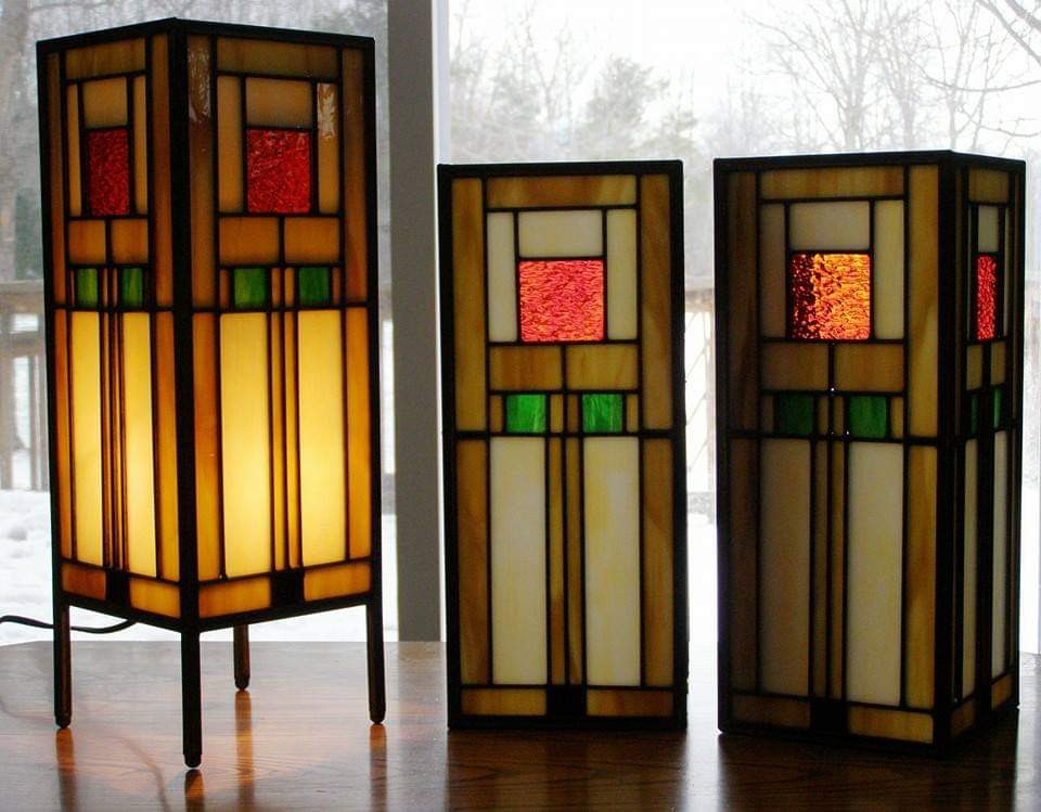 Wall Sconce and Table Lamp