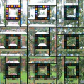 Patch Quilt Window Panel