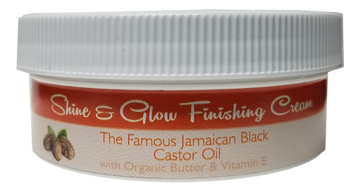 Shine & Glow Finishing Cream 4 oz