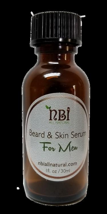 Men's Beard and Skin Serum 1 oz
