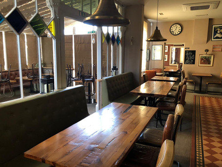 Closing our doors - life at home for Perkins Bar & Bistro part 1