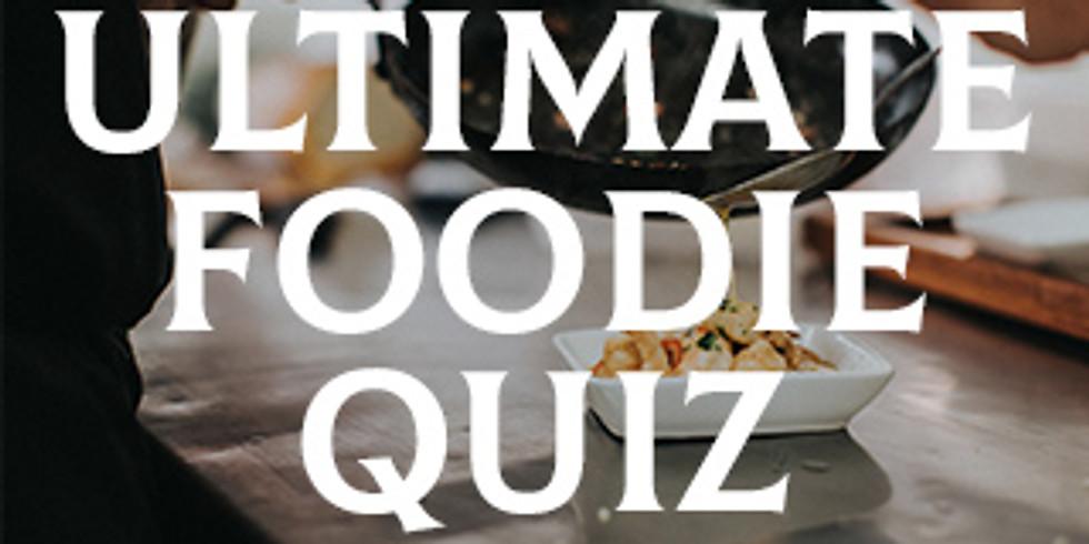 Ultimate Foodie Dinner & Quiz- 6 course £30pp