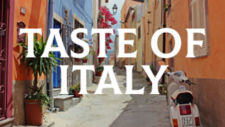 A Taste of Italy- 6 course £30pp