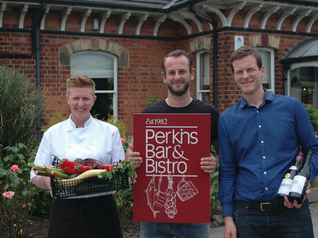 Welcome to the brand new Perkins Bar & Bistro Website