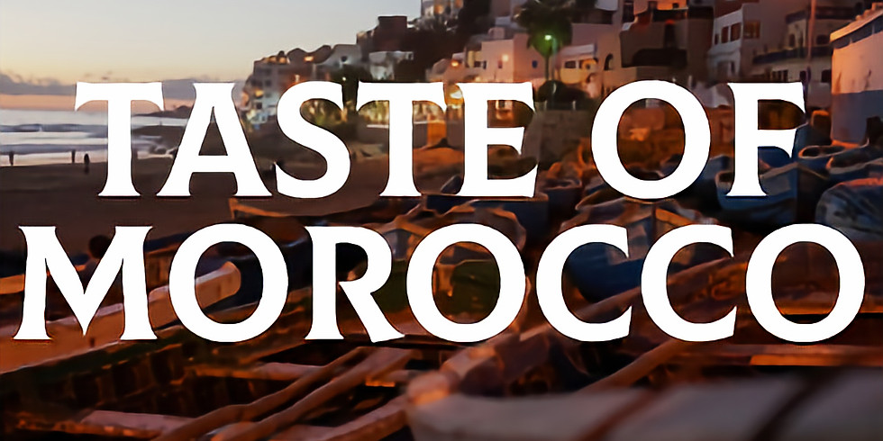 A Taste of Morocco- 6 course £30