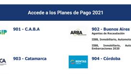 Herramientas: Planes de pago del periodo 2021