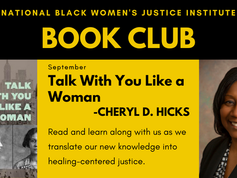 NBWJI Book Club September Selection: Talk With You Like a Woman
