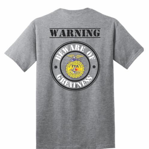 Warning Tee