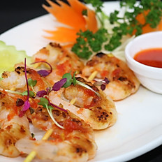6 King Prawn Skewers