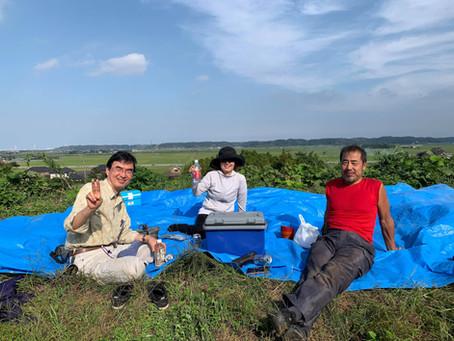 レンタル農園 ~紅はるか収穫編~ 2019.09.27