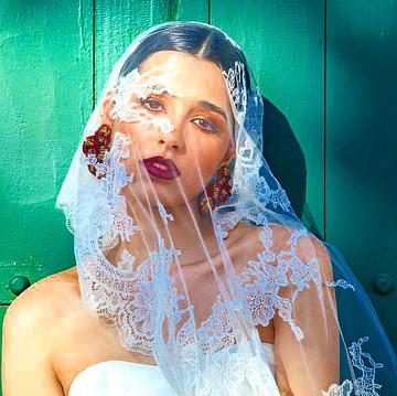 Flower Garden Earrings featured in Metro Weddings Magazine.