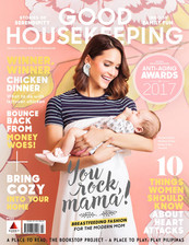 Our White Hula Skirt Fringe Earrings for Good Housekeeping Magazine