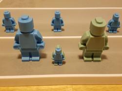 Robot/Brickmen (Large & Small)