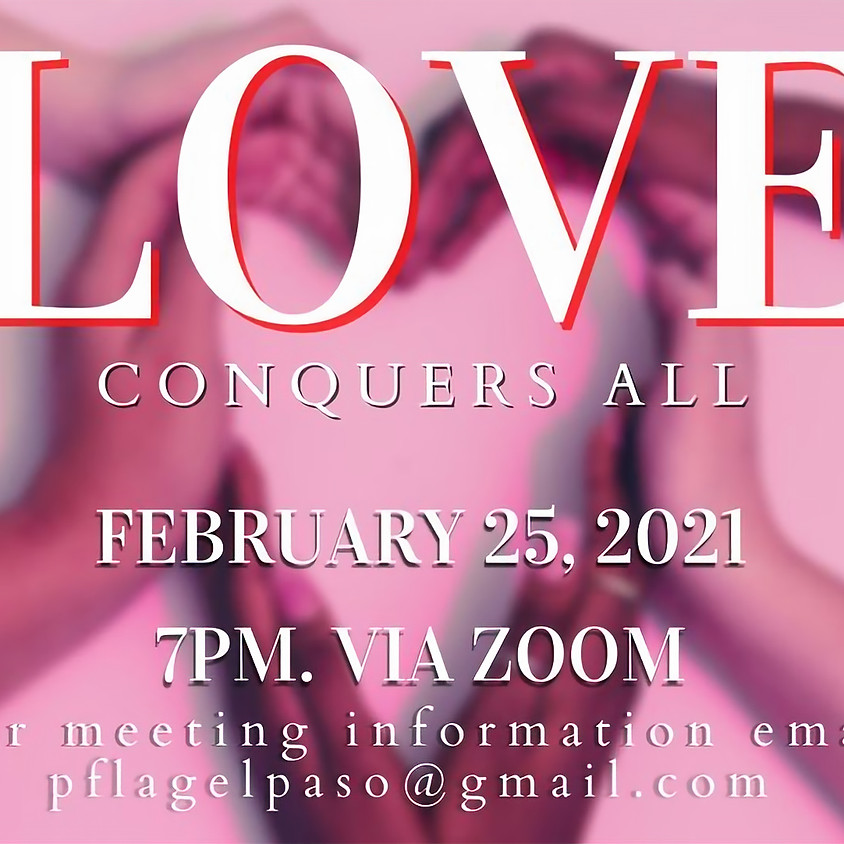 Love Conquers all! Support meeting. Online Event