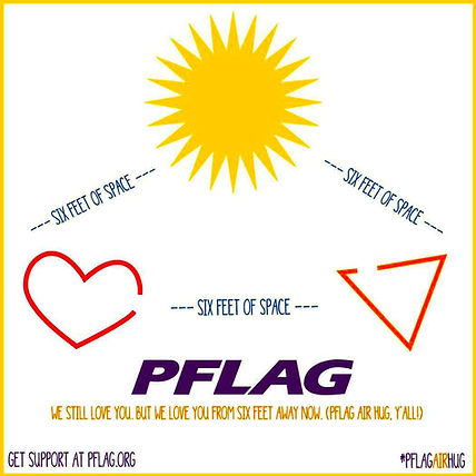PFLAG air hug
