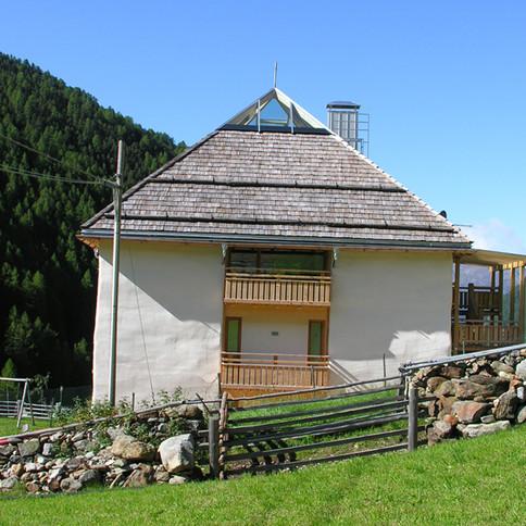Strohhaus Fliri