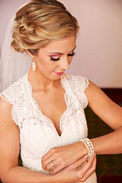 Bride Amanda  Bridal Makeup | Beau Backstage Makeup | Fredericton New Brunswick Canada